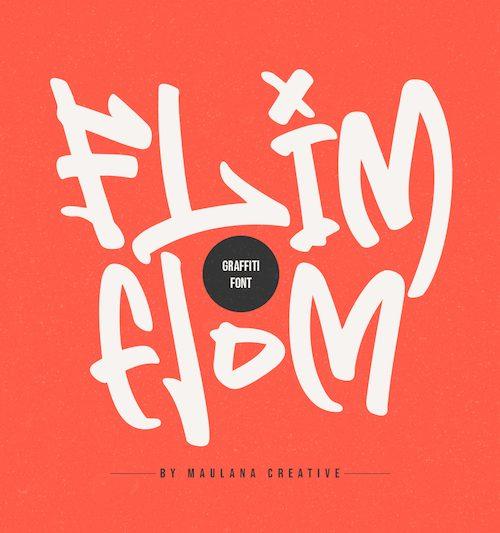 Flim-Flom-Graffiti-Font-1
