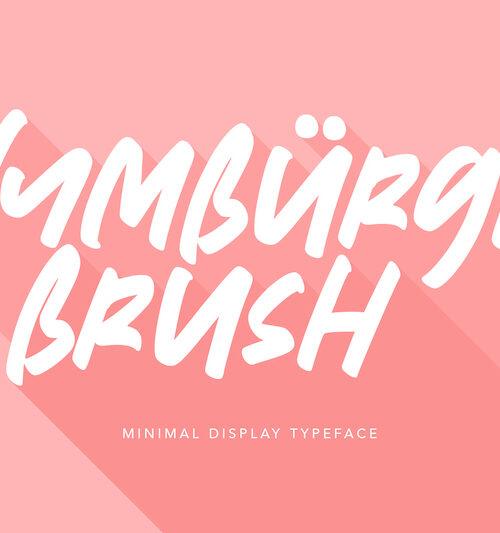 Nymburgh-brush-minimal-display-typeface-1