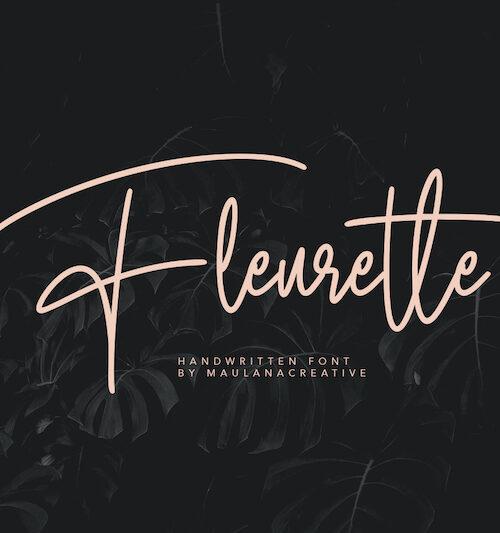 Fleurette-Handwritten-Font-1