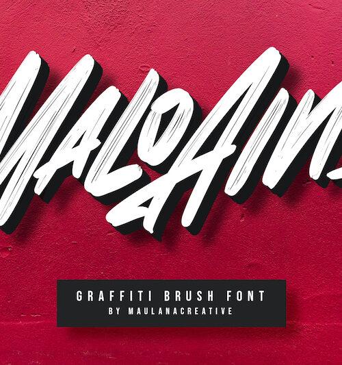 Malo-Aino-Graffiti-Brush-Font-1