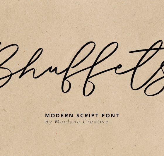 Bhuffets-Modern-Script-Font-1