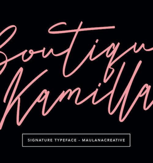 Boutique-Kamilla-Signature-Typeface-1