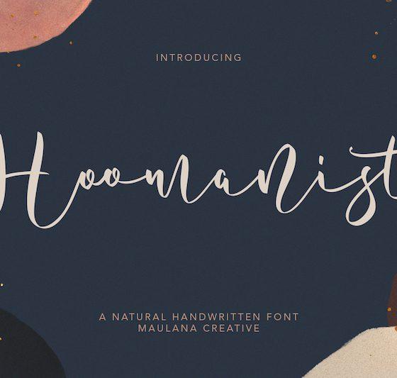 Hoomanist Natural Handwritten Font 1