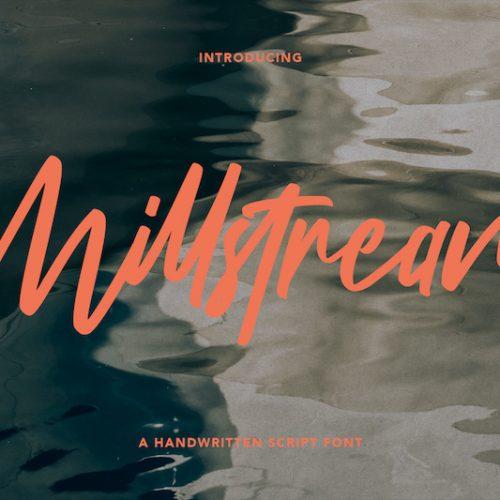 Millstream Handwritten Script Font 1