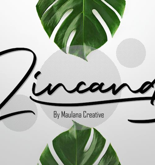 Zincand Modern Script Font 1
