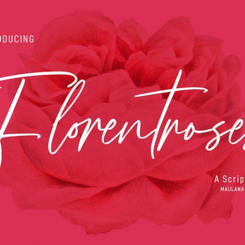 Florentroses Signature Font 1