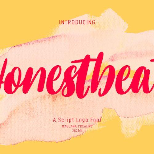 Honestbeat Handwritten Script Font 1