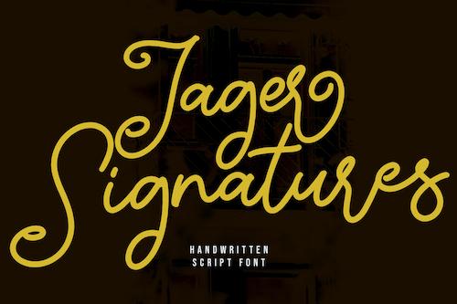 Jager-Signature-Handwritten-Script-Font-1